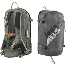 ABS s.LIGHT Compact Base Unit + s.LIGHT Compact Zip-On 30l Backpack rock grey